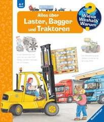 Why? Why? Why? (Vol. 38): Everything About Trucks, Excavators and Tractors - image 1 - Click to Zoom