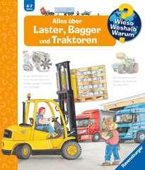 Alles über Laster, Bagger und Traktoren Bücher;Wieso? Weshalb? Warum? - Bild 1 - Ravensburger