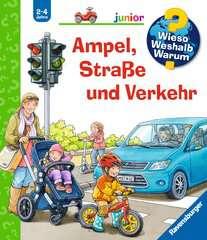 Ampel, Straße und Verkehr - Bild 1 - Klicken zum Vergößern