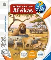 tiptoi® Entdecke die Tiere Afrikas - Bild 1 - Klicken zum Vergößern