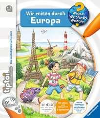 tiptoi® Wir reisen durch Europa tiptoi®;Bücher Ravensburger