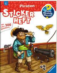 Why? Why? Why? Sticker Book: Pirates - image 2 - Click to Zoom