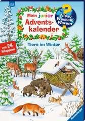 Mein junior Adventskalender Tiere im Winter - Bild 2 - Klicken zum Vergößern