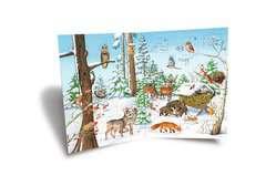 Mein junior Adventskalender Tiere im Winter - Bild 4 - Klicken zum Vergößern