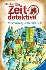 Die Zeitdetektive, Band 1: Verschwörung in der Totenstadt - Bild 1 - Klicken zum Vergößern