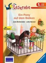 Ein Pony auf dem Balkon - Bild 1 - Klicken zum Vergößern