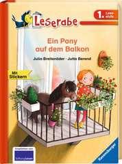 Ein Pony auf dem Balkon - Bild 2 - Klicken zum Vergößern