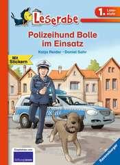Polizeihund Bolle im Einsatz - Bild 1 - Klicken zum Vergößern