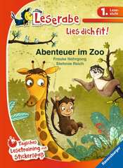 Adventures at the Zoo, Reading Raven, Reading Fitness, Level One - image 1 - Click to Zoom