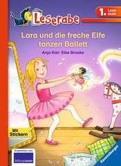 Lara und die freche Elfe tanzen Ballett - Bild 1 - Klicken zum Vergößern