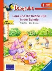 Lara und die freche Elfe in der Schule - Bild 1 - Klicken zum Vergößern