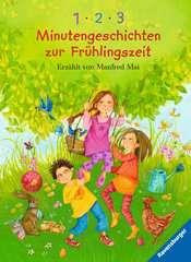 1-2-3 Minutengeschichten zur Frühlingszeit Bücher;Kinder- & Jugendliteratur Ravensburger