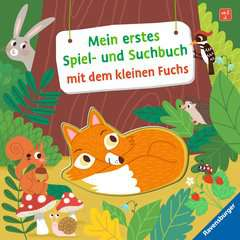 My First Play and Find Book About the Little Fox - image 1 - Click to Zoom