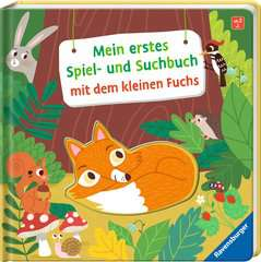 My First Play and Find Book About the Little Fox - image 2 - Click to Zoom