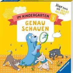 Im Kindergarten: Genau schauen - Bild 2 - Klicken zum Vergößern