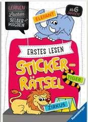 Erstes Lesen Sticker-Rätsel - Bild 2 - Klicken zum Vergößern