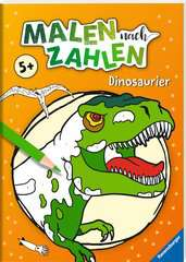 Malen nach Zahlen: Dinosaurier - Bild 2 - Klicken zum Vergößern