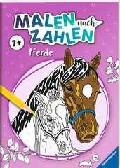 Malen nach Zahlen ab 7 Jahren: Pferde - Bild 2 - Klicken zum Vergößern
