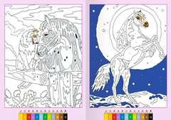 Malen nach Zahlen ab 7 Jahren: Pferde - Bild 4 - Klicken zum Vergößern