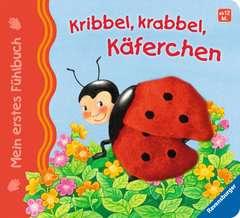 Mein erstes Fühlbuch: Kribbel, krabbel, Käferchen - Bild 1 - Klicken zum Vergößern