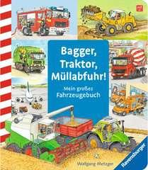Bagger, Traktor, Müllabfuhr! Baby und Kleinkind;Bücher - Bild 1 - Ravensburger