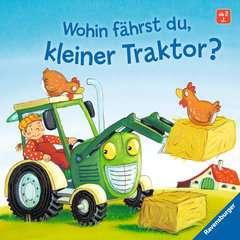 Wohin fährst du, kleiner Traktor? - Bild 1 - Klicken zum Vergößern