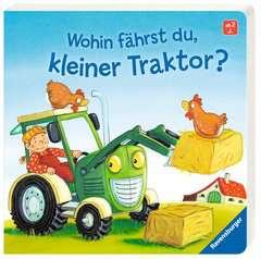 Wohin fährst du, kleiner Traktor? - Bild 2 - Klicken zum Vergößern