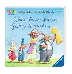 Wenn kleine Hasen Picknick machen - Bild 2 - Klicken zum Vergößern