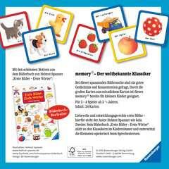 Erste Bilder - Erste Wörter memory® Spiele;Kinderspiele - Bild 3 - Ravensburger