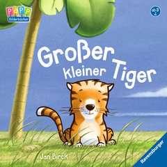 Großer kleiner Tiger - Bild 1 - Klicken zum Vergößern