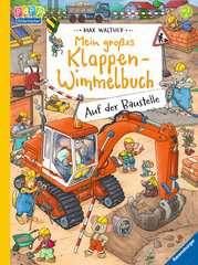 Mein großes Klappen-Wimmelbuch: Auf der Baustelle Baby und Kleinkind;Bücher - Bild 1 - Ravensburger