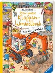 Mein großes Klappen-Wimmelbuch: Auf der Baustelle Baby und Kleinkind;Bücher - Bild 2 - Ravensburger