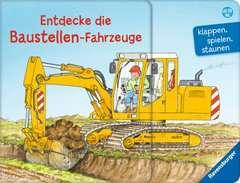 Entdecke die Baustellen-Fahrzeuge Baby und Kleinkind;Bücher - Bild 1 - Ravensburger