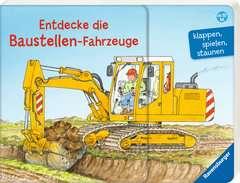 Entdecke die Baustellen-Fahrzeuge Baby und Kleinkind;Bücher - Bild 2 - Ravensburger