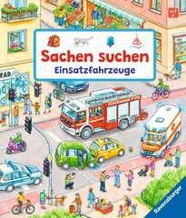 Sachen suchen: Einsatzfahrzeuge Baby und Kleinkind;Bücher - Bild 1 - Ravensburger