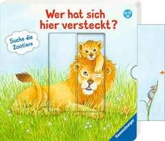 Wer hat sich hier versteckt? Suche die Zootiere - Bild 6 - Klicken zum Vergößern