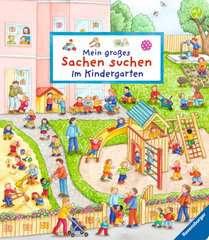 Mein großes Sachen suchen: Im Kindergarten - Bild 1 - Klicken zum Vergößern