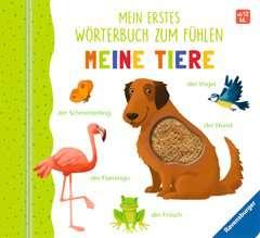 Mein erstes Wörterbuch zum Fühlen: Meine Tiere - Bild 1 - Klicken zum Vergößern