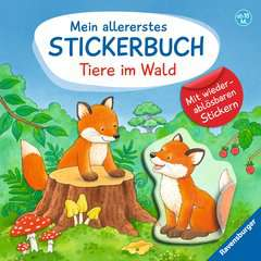 My Very First Sticker Book: Forest Animals - image 1 - Click to Zoom