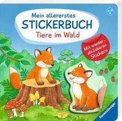 My Very First Sticker Book: Forest Animals - image 2 - Click to Zoom