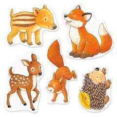 My Very First Sticker Book: Forest Animals - image 4 - Click to Zoom