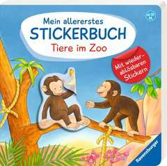 My Very First Sticker Book: Zoo Animals - image 2 - Click to Zoom
