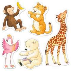 My Very First Sticker Book: Zoo Animals - image 5 - Click to Zoom