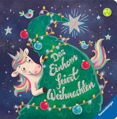 Das Einhorn feiert Weihnachten - Bild 1 - Klicken zum Vergößern