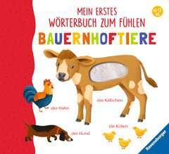 Mein erstes Wörterbuch zum Fühlen: Bauernhoftiere - Bild 1 - Klicken zum Vergößern