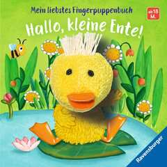 My Favourite Finger Puppet Book Hello, Little Duck! - image 1 - Click to Zoom