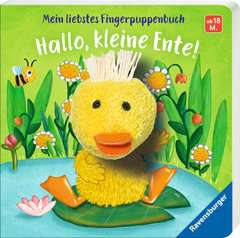 My Favourite Finger Puppet Book Hello, Little Duck! - image 2 - Click to Zoom