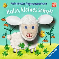 My Favourite Finger Puppet Book Hello, Little Sheep! - image 1 - Click to Zoom