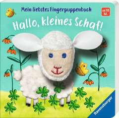 My Favourite Finger Puppet Book Hello, Little Sheep! - image 2 - Click to Zoom