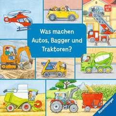 What Do Cars, Diggers and Tractors Do? - image 1 - Click to Zoom